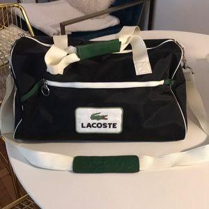 Lacost duffle bag